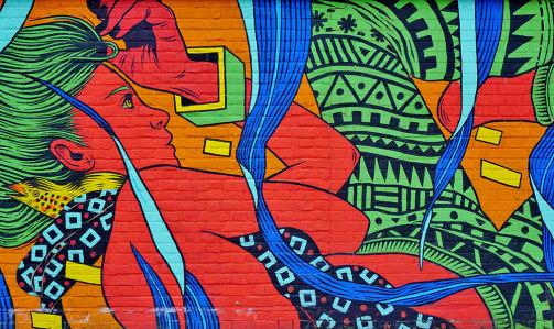 Фотообои Граффити в Лондоне (background-394)