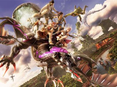 Фотообои детские Final Fantasy (children-0000326)