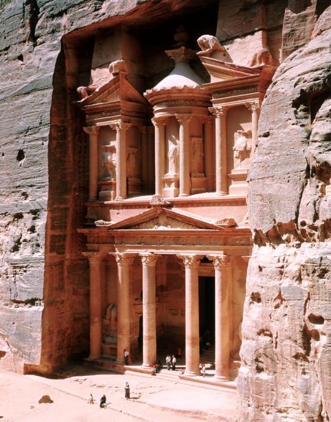 Фотообои город, Петра, Иордания (city-0000346)