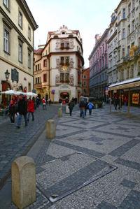 Фотообои Чехия архитектура улица (city-0000629)