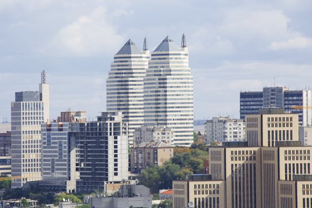 Фотообои архитектура Днепропетровска (city-0000964)