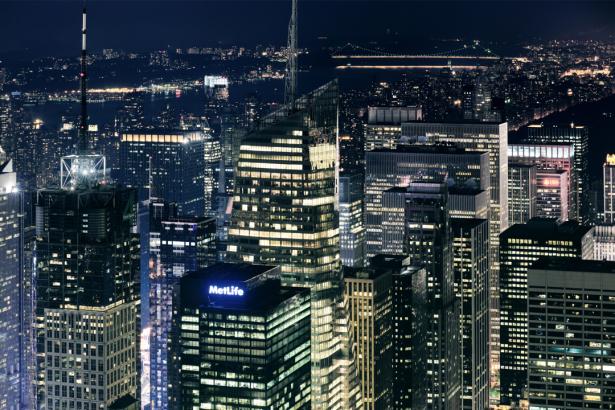 Фотообои ночной город ночные огни (city-0001348)