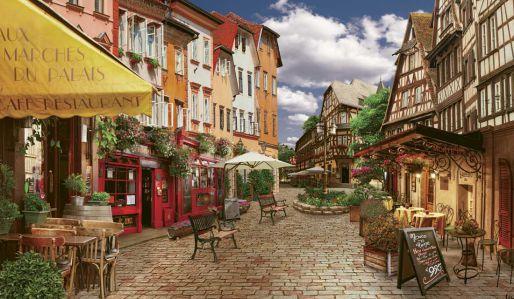 Фотообои площадь в старом городе (city983)