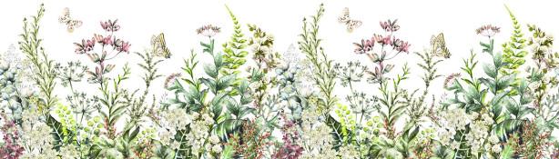 Фотообои Травы и полевые цветы (flowers-810)