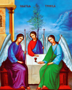 Икона Святая Троица (icon-00004)