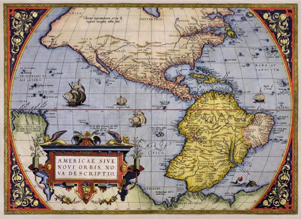 атлас, география, карты, старая карта (map-0000098)