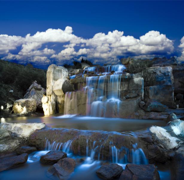 Фотообои синь водопада (nature-0000710)