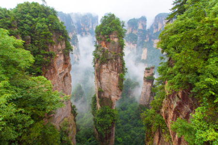 Фотообои Китайские горы (nature-0000841)