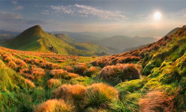 Фотообои с природой горы горный пейзаж (nature-00149)