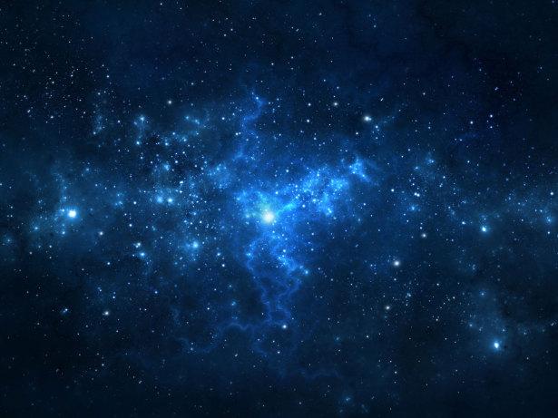 Фотообои звезды в ночном небе (overhead-0001)