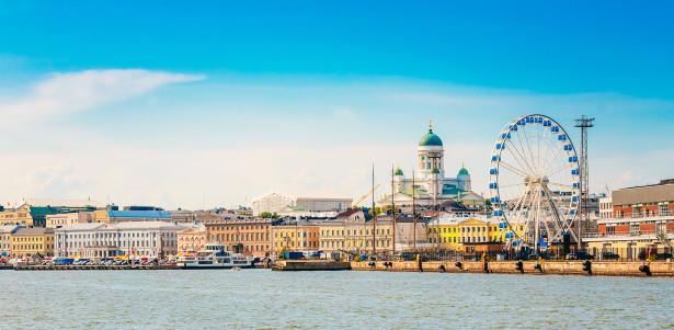 Фотообои панорама набережной в Хельсинки (panorama-54)