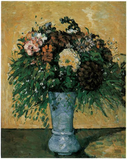 ваза с сиренью Поль Сезанн (pf-29)