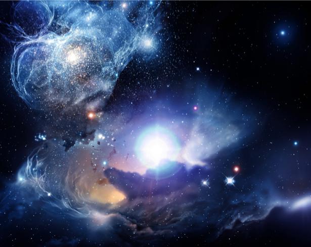 Фотообои галактика звездное небо (space-0000009)