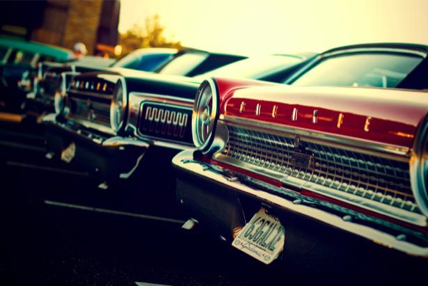 Фотообои ретро автомобили (transport-0000132)