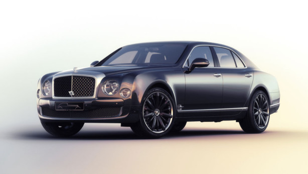 фотообои Bentley Mulsanne Speed (transport-316)
