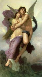 Картина с ангелами Обучение Купидона (angel-00001)