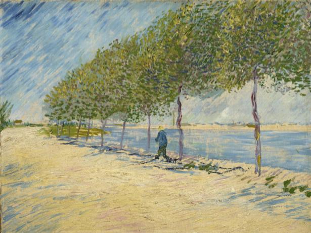 Ван Гог пейзаж (art-0000157)