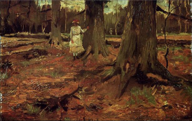 Ван Гог пейзаж (art-0000192)