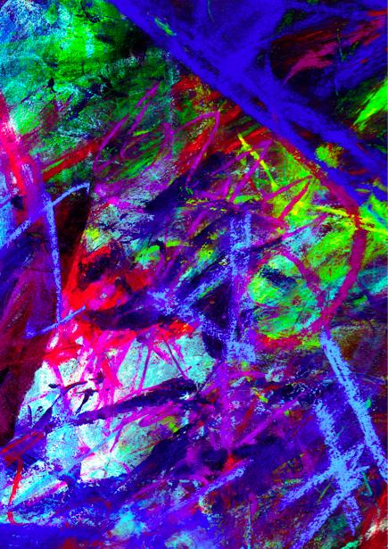 Фотообои мазки краски (background-0000125)