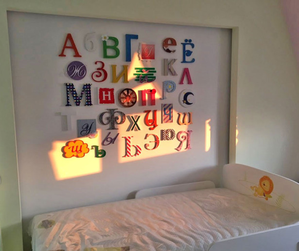 Объемный алфавит в детскую комнату (child-565)