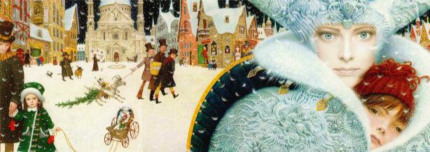 Фотообои детские Снежная королева (children-0000387)
