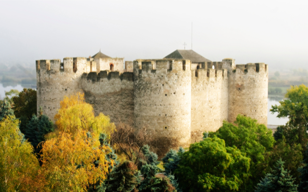 Фотообои старинный, замок, дворец, архитектура (city-0000190)