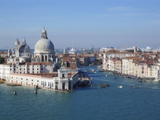 Фотообои канал в Венеции, Венеция, Италия (city-0000230)