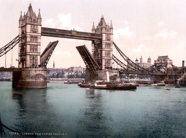 Фотообои Лондон, мост, Англия, река (city-0000364)