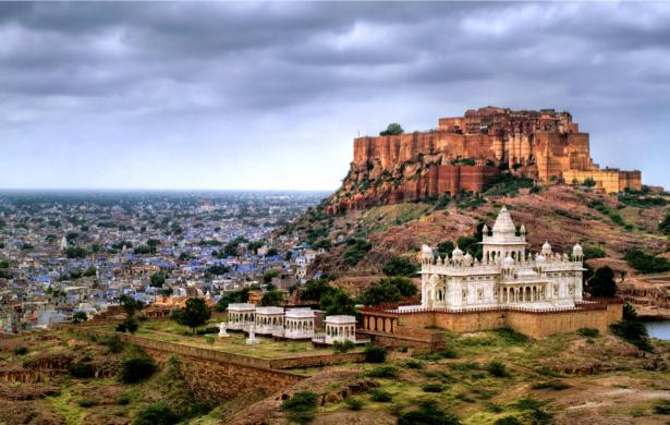 Фотообои Индия замок Джодхпур (city-0000766)