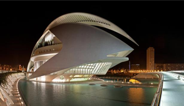 Фотообои дворец Валенсия (city-0000994)