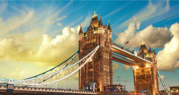 Фотообои тауэрский мост вид (city-0001063)
