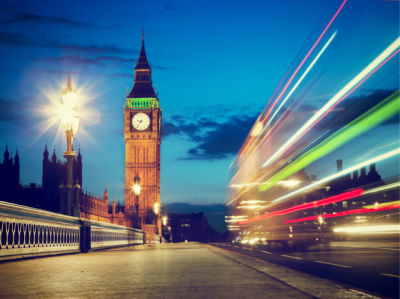 Фотообои Лондон вечерний Биг-Бен (city-0001248)