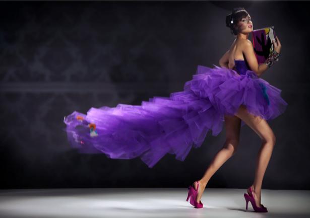 Фотообои мода девушка платье креатив (glamour-0000110)
