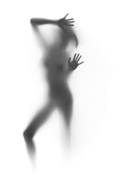 Фотообои фигура силуэт (glamour-0000160)
