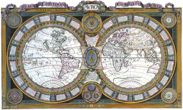 география, карты, старая карта (map-0000034)