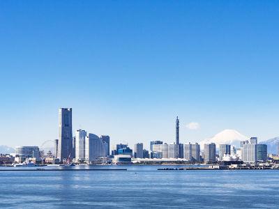 Фотообои Городской пейзаж Йокогама (panorama-74)