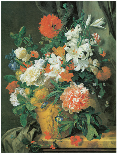 натюрморт с цветами Ян ван Хейсум (pf-64)