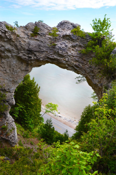 Фотообои арки в природе (prg-149)