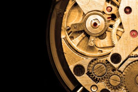 Фотообои механизм часы старые (retro-vintage-0000202)