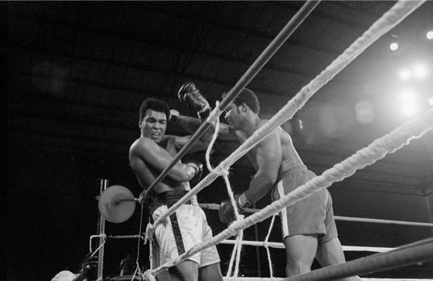 Мухаммед Али, боксер, бокс (retro-vintage-0000292)