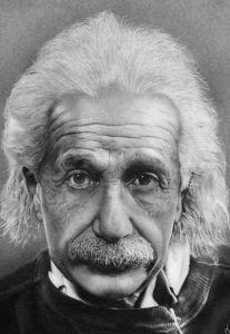 Фотообои Альберт Эйнштейн (retro-vintage-0000396)