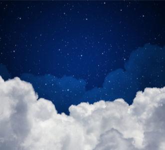 Фотообои со звёздами ночное небо (sky-0000080)