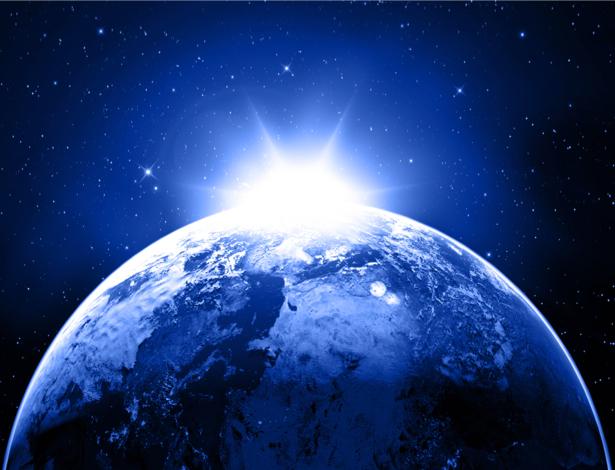 Фотообои солнце в космосе (space-0000052)