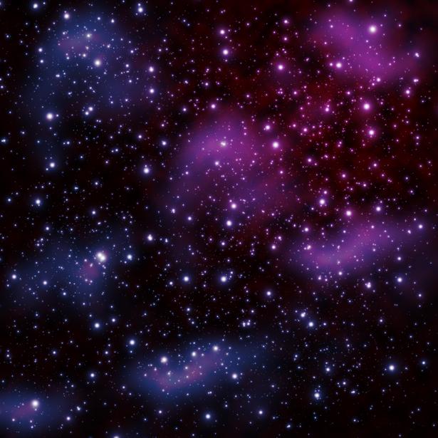 Фотообои скопления звезд (space-0000077)