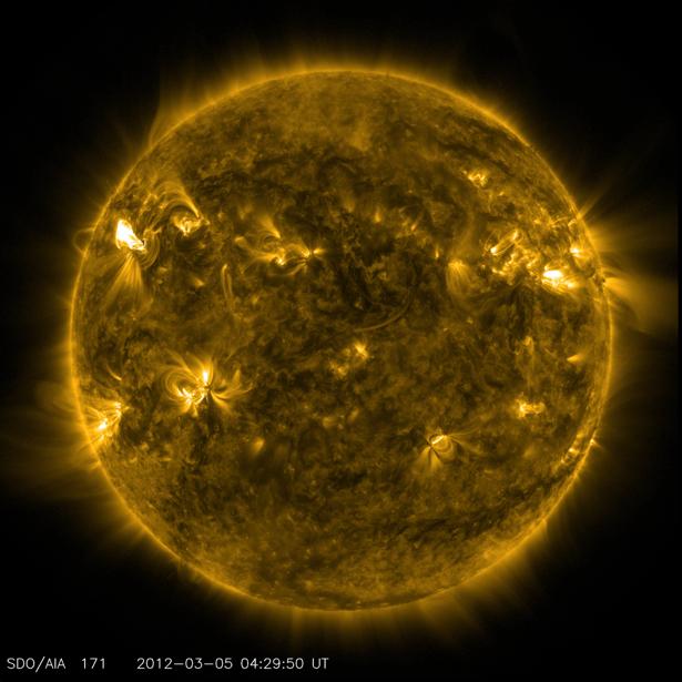 Фотообои на стену солнце (terra-00164)