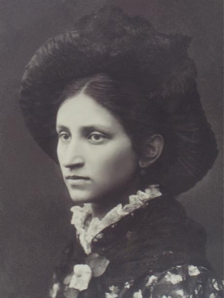 Портрет Ольги Кобылянской (ukraine-0191)