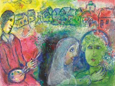 Шагал, авангард (art-0000382)