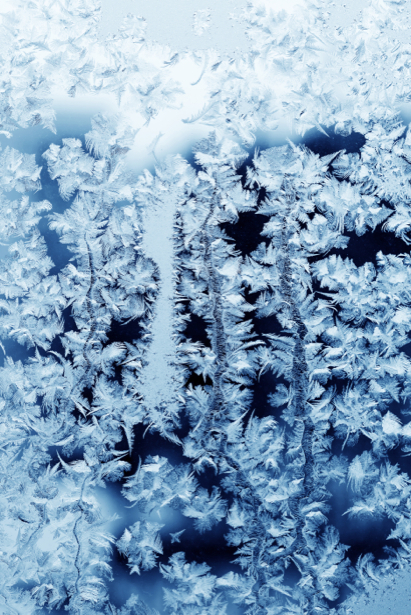 Фотообои зимняя текстура изморозь (background-0000117)