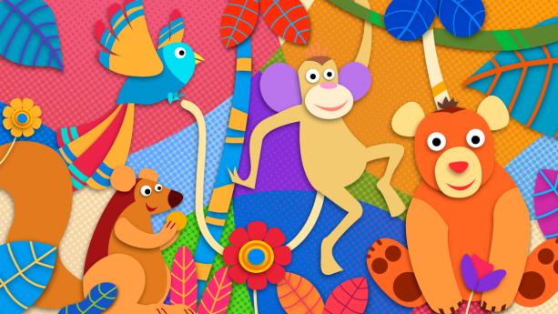 Фотошторы животные зоопарка (children-curtain-00023)