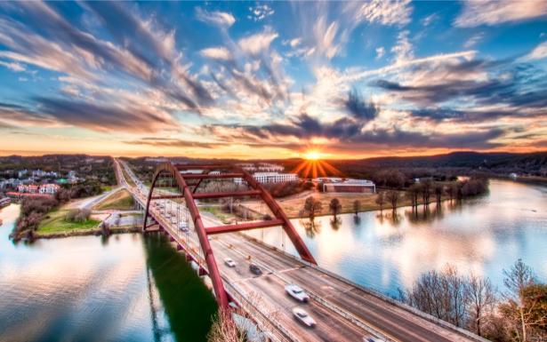 Фотообои город, мост, дорога (city-0000163)